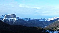 Un mercredi  la montagne... (ImAges ImprObables) Tags: montagne gimp ciel neige nuage vercors balcon col hivers isre traitement rhnealpes montaiguille coldemene balconestduvercors fujixs1
