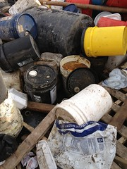 DRC Stated Toxic waste near frack site