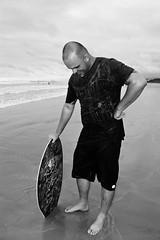 Sikimboard (Bruna Lucchesi_) Tags: blackandwhite praia beach pb skimboard skimboarder