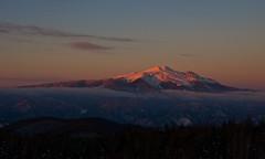 Just before sunset,  Pink variations 2 (Yoshia-Y) Tags: sunset mtnorikura mtkisoontake