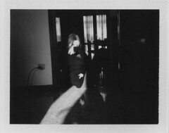 (Luca Tabarrini) Tags: portrait blackandwhite analog polaroid indoor analogue ritratto pellicola colorpackii istantanea fujifp3000b istantfilm
