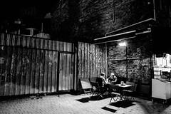 dinner (㋡ Aziz) Tags: street new travel bw white black photography lowlight streetphotography fujifilm beyaz fujinon sb nihgt siyah xpro1