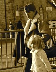 _DSC0741 (petefreeman75) Tags: uk costumes ladies england hat lady fur costume cosplay 1940s ww2 nurse uniforms gent allrightsreserved pickering warweekend 2013 wartimeweekend pickeringwarweekend pickeringwartimeweekend pellison petefreeman