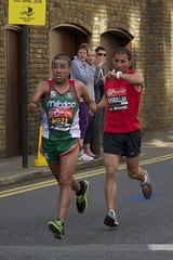 mexico ipc marathon athlete runner roadrunner londonmarathon eastlondon narrowstreet paralympic t44t46 hashtagboost