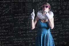Day 3670 (evaxebra) Tags: wh wah queen quantum math mechanics physics blackboard board chalk blackmilk