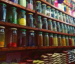 Spices (CarysBlackburn) Tags: spice jars marrakech marrakesh morocco souks africa