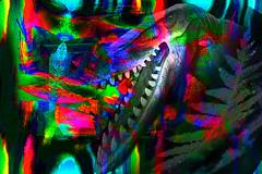 Fauces. 33453028716_e4c1023c2c_o (seguicollar) Tags: dinosaurio fauces dentadura boca color colorido deformación creativa photomanipulación art arte artecreativo artedigital virginiaseguí