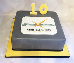 Extra Mile Events Cake