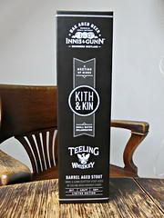 Kith and Kin (knightbefore_99) Tags: beer cerveza pivo scottish tasty craft cool box edinburgh kith kin aged innisandgunn barrel teeley art stout dark irish