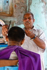 Hair Salon (._-Patrick-_.) Tags: hairsalon kolkata india