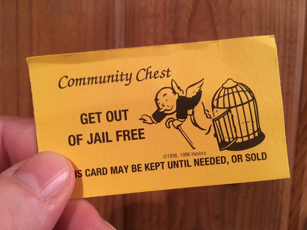 how to get out of jail in monopoly game
