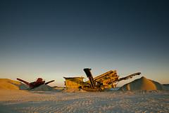Sand Mining (Macr1) Tags: 61403327236 australia beach camera coast conditions crushtek d810 day default filters geography goldenhour graduatednd industrial lee lens location machinery markmcintosh nikon nikond810 ocean outdoor sand sandmining sea shore tamronsp2470mmf28divcusd wa water westernaustralia macr237gmailcom ©markmcintosh