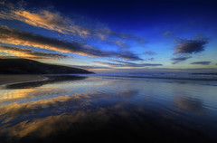 """WET FEET FEELS SO GOOD """" (Wiffsmiff23) Tags: traeth beach southwales southerndown dunravenbay heritagecoastlinesouthwales reflections"""