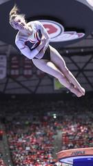 gymnastics004 (Ayers Photo) Tags: sports canon utahutes utah utes red redrocks gymnastics barefoot bare foot feet toes toe barefeet woman women