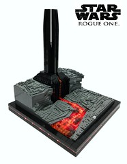 Rogue One - Vaders Castle on Mustafar  (IDSMO-R2) (markus19840420) Tags: starwars rogueone vaderscastle mustafa lego moc star wars olympics micro scale