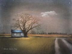 Idleness Like Kisses (sharon o*brien huey) Tags: sharonobrienhuey fairytale magicalrealism farm newjersey southjersey tree barn rural photoart manipulation textures