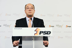 Carlos Carreiras em Conferência de Imprensa
