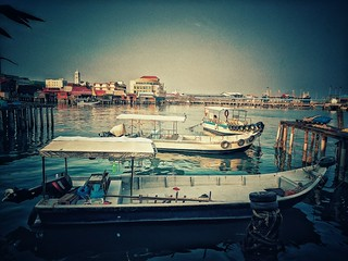 The Boats in Chew Jetty (George Town, Penang)