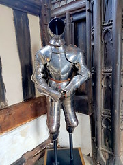 20170415_132522 (dkmcr) Tags: ruffordoldhall nationaltrust tudor heritage history lancashire daytrip attraction tourist rufford 15th april 2017 armour suit metal