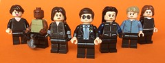 Agents of S.H.I.E.L.D. (FxanderW) Tags: minifigure minifigures minifigs moc custom yoyo mac fitzsimmons simmons fitz may coulson shield agentsofshield marvel lego