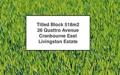 26 Quattro Avenue, Cranbourne East VIC