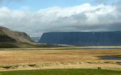 iceland orange grasses (kexi) Tags: iceland europe valley patreksfjordur orange grasses view landscape paysage sky clouds canon may 2016 instantfave