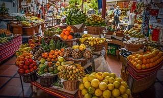 Mercado dos Lavradores, Funchal , Madeira
