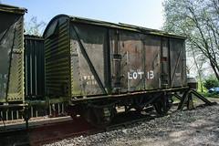 4192 Peak Rail 090417 (Dan86401) Tags: 4192 wgb4192 vwv vanwide br ventvan wagon freight ventilatedvan peakrail