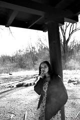 serpent is lord (reilynsanderson) Tags: anseladams bw monochrome portrait portraits girl cigarette smoke