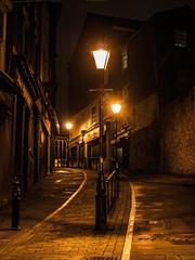 Bridge Street Stockport (johnholme1) Tags: arcetecture marketbrew monochrome nightscene stockport underbank blackandwhite uk