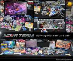 Philly Brick Fest Live 2017 (Agaethon29) Tags: lego afol legography brickography legophotography minifig minifigs minifigure minifigures toy toyphotography macro cinematic 2017 legospace neoclassicspace spaceman classicspace space scifi sciencefiction ncs novateam customminifigure moc phillybrickfestlive phillybrickfest brickfest