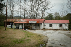 Old Cleveland's Store - Stephens Co., Ga. (DT's Photo Site - Anderson S.C.) Tags: canon 6d 24105mml lens tugaloo river stephens co georgia old country store road rural southern america vanishing rustic landscape abandoned neglected nostalgic clevelands cocacola sign southernlife