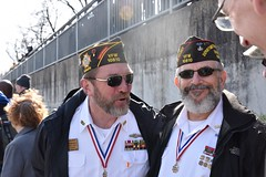 Veterans in attendance at ceremony (U.S. Army Europe) Tags: nierstein germany worldwar ww2 75strong strong strongeurope amphibious nazivictims kornsand engineers 249th history historic rhine rhineriver usareur armyeurope europestrong