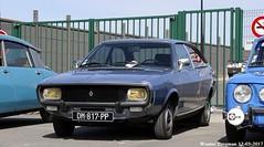 Renault 15 TL 1975 (XBXG) Tags: dm817pp renault 15 tl 1975 renault15 r15 coupé coupe bleu blue 30ème salon des belles champenoises époque reims marne 51 grand est grandest champagne ardennes france frankrijk vintage old classic french car auto automobile voiture ancienne française vehicle outdoor