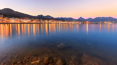 USH.17 (G.Paskudzki) Tags: ushuaia terradelfuego patagonia argentina travel adventure lights water port city cityscape citylights mountains sunset landscape