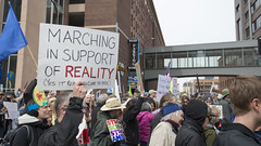Climate March in Minnesota (Fibonacci Blue) Tags: minneapolis mpls climate protest march demonstration event solidarity dissent outcry outrage twincities minnesota crowd people sign reality earth donaldtrump putin trump activist activism ecology ecological
