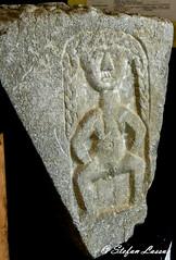 Rahara Sheela-na-gig (Salmix_ie) Tags: rahara county roscommon sheelanagig pagan pre christian sacred fertility sculpture druid rites holy nikon nikkor d500 march 2017