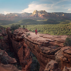 Devils Bridge (Ryan Closson) Tags: sedona az unitedstates usa artistic arizona arizonaphotographer america american alone arizonamodel beautiful camera dslr expansion fineart fineartphotography green heart hope journey love light life live landscape magical photography portraits portraitphotography poetry prescottarizonaphotographer ryanclosson ryanclossonphotography ryanclossonphoto surrealportraits travelphotography travel trip west exotic explore