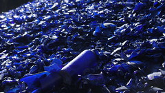 DSC05496 (seeker484848) Tags: glassfactorybrockway pa glass bottles melted down new made colors can range anywhere from clear green blue