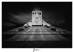 Liverpool Metropolitan Cathedral (jaygilmour11) Tags: liverpool cathedral catholic blackandwhite longexposure merseyside god church concrete clouds leefilters manfrotto nikon