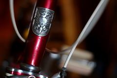 bridgestone head badge (frenchvalve) Tags: bridgestone bikeheadbadge eosm rokkor mcrokkorpf117f55mm
