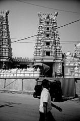 Layered (Stephen Dowling) Tags: travel lomograpy 35mm film blackandwhite lomolca fomapan100 sovietcamera russiancamera srilanka