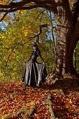 Niina (AV art) Tags: fall autumn leaves october finland girl young woman alternative model ruska syksy syksyn lehdet lokakuu suomi tyttö nuori nainen malli