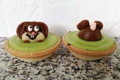 Dessert (stgenner) Tags: dessert süsses grün marzipan stefangenner