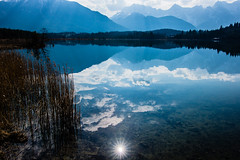 A Star was born (*Capture the Moment* (OFF till End June)) Tags: 2017 barmsee bavaria bayern berge clouds deutschland elemente germany himmel lake lakebarmsee landschaften mountains reflection reflections reflexion see sigma1181835mmart sky sonya77 sonyalpha77 spiegelung star sun wasser water wetter wolken cloudy wolkig