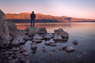 First Rays at Mono Lake