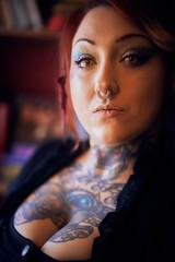 Jessie (HeavenridgeFilms) Tags: sony a7rii zeiss 55mm sexy model dark brooding tattoos short feisty pretty beautiful