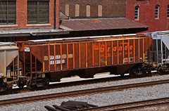 "KYLE Covered Hopper Car No. 15815 in Kansas City, MO (""Righteous"" Grant G.) Tags: drgw denver rio grande western railway railroad locomotive train trains covered hopper car cars up kyle rolling stock freight west bottoms kansas city missuri"