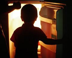 Treasure Island (N A Y E E M) Tags: umar kalam son shezin mother wife family refrigerator fridge light bedroom home rabiarahmanlane chittagong bangladesh availablelight indoors afternoon cropped 8x10