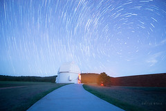 Star Trails over McDonald Observatory (Fort Davis, Texas)